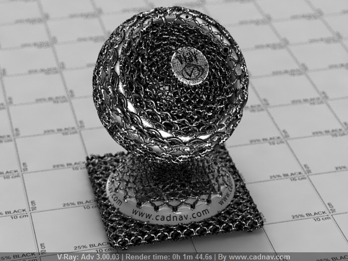 Chain Mail material rendering