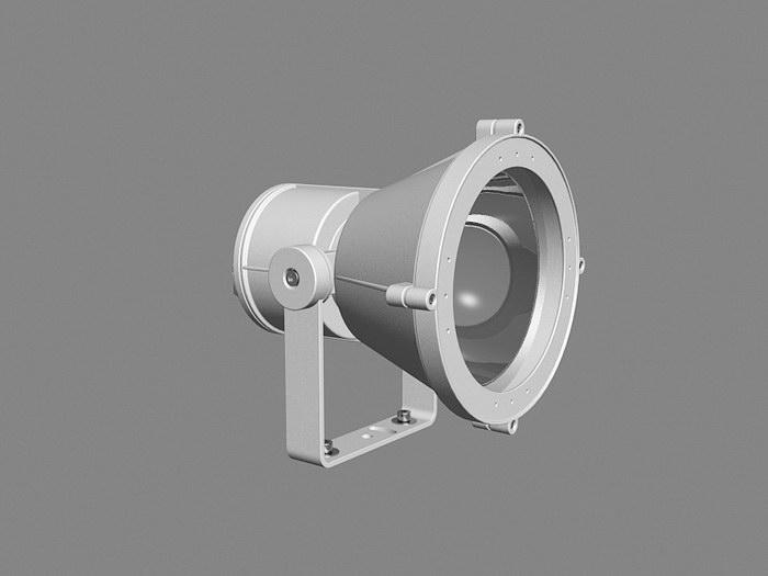 Halogen Spotlight Fixture 3d rendering