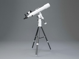 Astronomical Telescope 3d preview