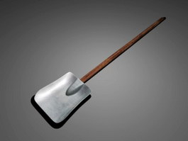Square Shovel 3d preview