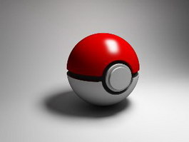 Poke Ball 3d preview
