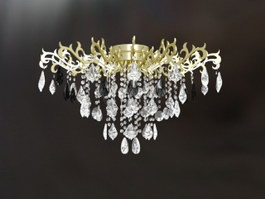 Pendant Crystal Chandelier 3d preview