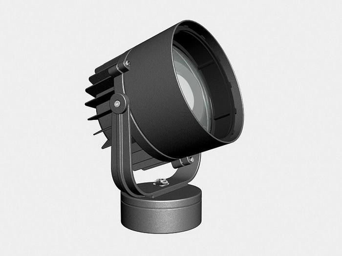 Exterior Spotlight 3d rendering