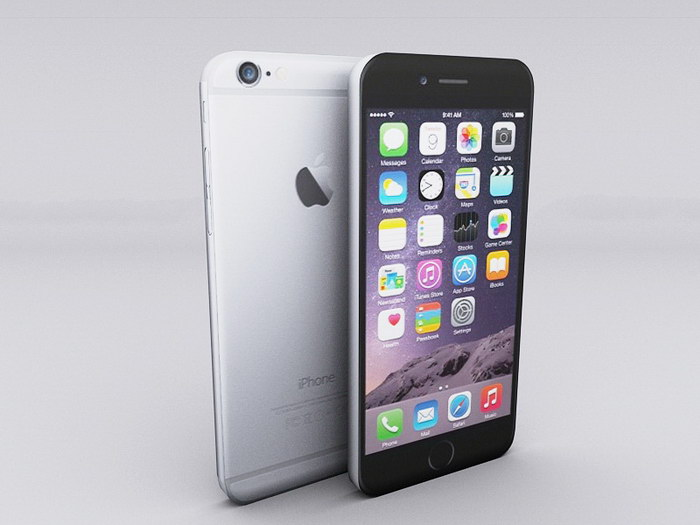 iPhone 6 Smartphones 3d rendering