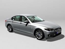 BMW 535i Executive Car 3d preview
