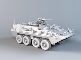 Modern APC Infantry Fighting Vehicle 3d preview