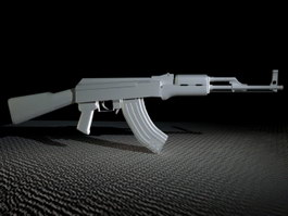 AK-47 Type 2 3d preview