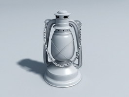Antique Lantern 3d preview