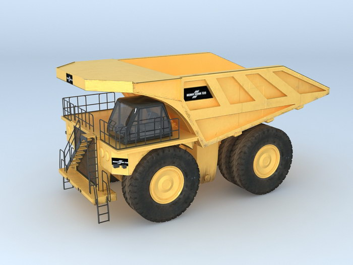 Caterpillar 797 Haul Truck 3d rendering