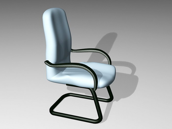 Cantilever Desk Chair 3d rendering