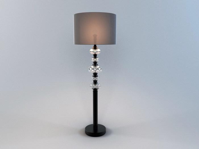 Designer Floor Lamp 3d rendering