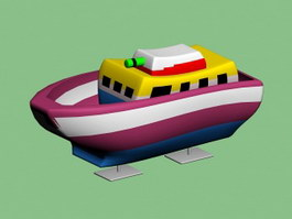Toy Army Ship 3d preview