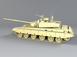 ZTZ-99 Chinese Main Battle Tank 3d preview