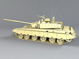 ZTZ-99 Chinese Main Battle Tank 3d preview