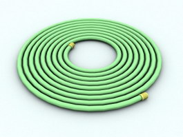 Garden Water Hose 3d preview