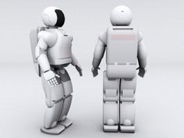 Asimo Humanoid Robot 3d preview