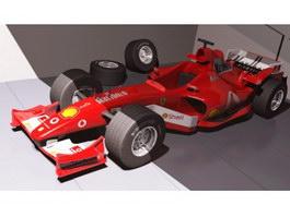 Formula 1 Car 3d preview