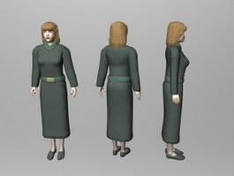 Female Teacher 3d preview