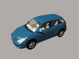Toyota Corolla Matrix Compact Hatchback 3d preview