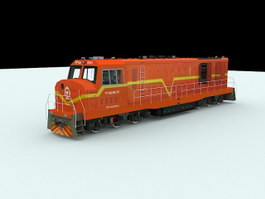 Dongfeng 4 Diesel-electric Locomotive 3d preview