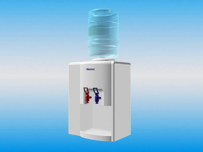 Freestanding Bottled Water Dispenser 3d rendering