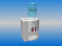 Freestanding Bottled Water Dispenser 3d preview