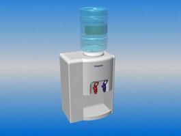 Freestanding Bottled Water Dispenser 3d preview