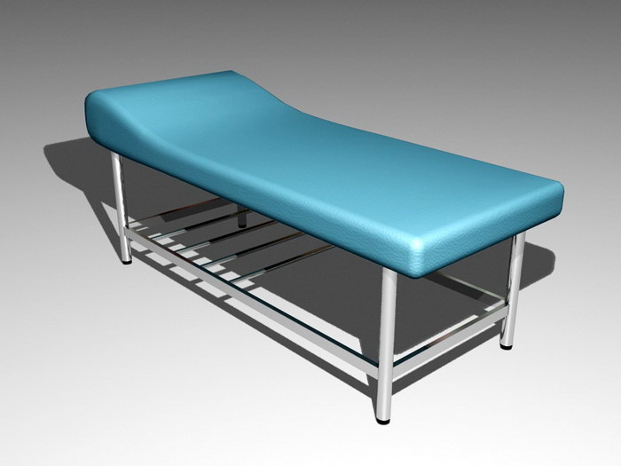 Massage Table 3d rendering
