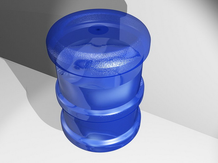Water Dispenser Bottle 3d rendering