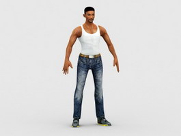 I Am Legend Will Smith 3d preview