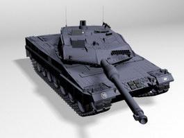 Leopard 2A6M Tank 3d preview