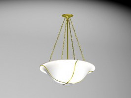 Art Deco Pendant Light 3d preview