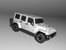 Jeep Wrangler Unlimited 3d preview