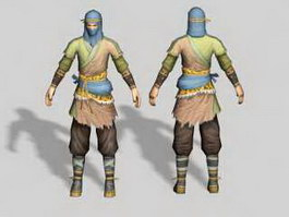 Medieval Robber 3d preview