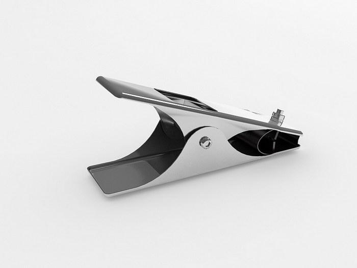 Welding Earth Clamp 3d rendering
