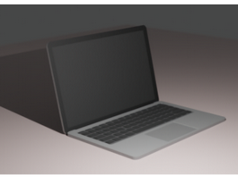 Apple MacBook 3d preview
