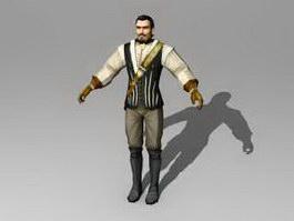 Medieval Nobleman 3d preview