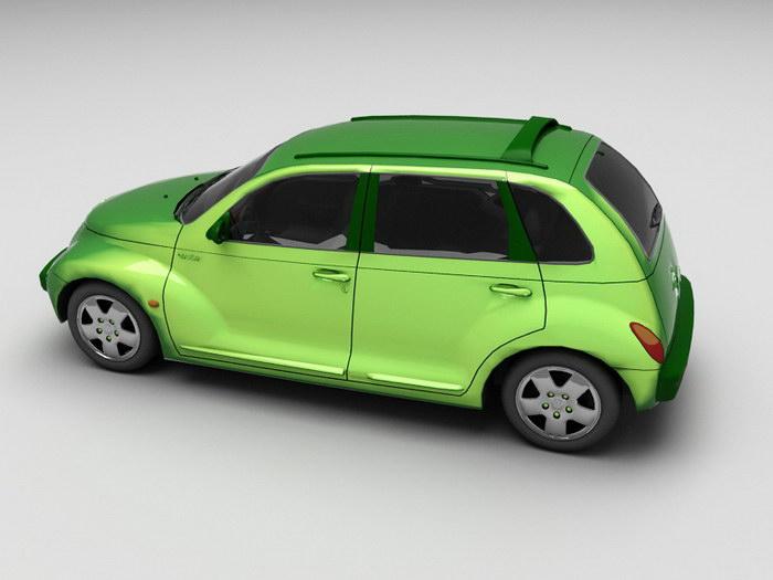 Chrysler Car PT Cruiser Classic 3d rendering