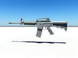 USMC M4 Carbine 3d preview