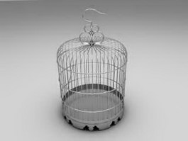 Metal Birdcage 3d preview