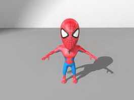 Spider-Man Character 3d preview