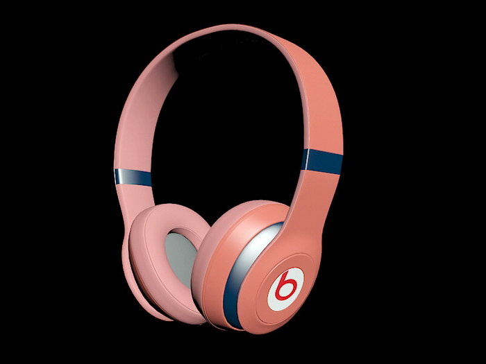 Beats Headphone 3d rendering