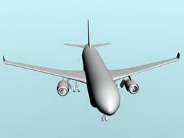 China C919 Jet Airliner 3d preview