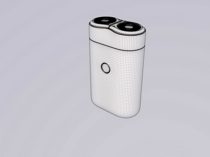Electric Razor Shaver 3d rendering
