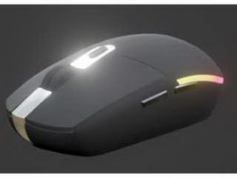 Logitech Wireless Mouse 3d preview