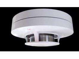 Smoke Detector 3d preview