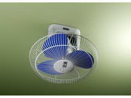 Wall Mounted Fan 3d preview