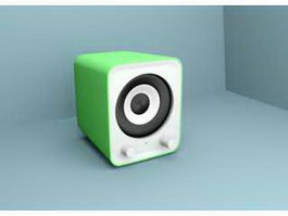 Small Speaker 3d preview