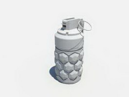 Sci-Fi Grenade 3d preview