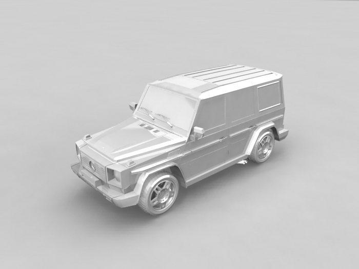 Mercedes-Benz G 500 3d rendering
